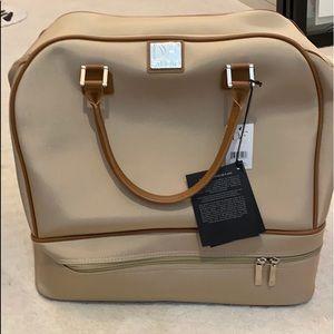 Unused DVF duffle luggage